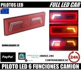 PILOTOS LED CARAVANA 6 FUNCIONES - foto