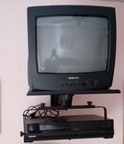 Televisor +VHS + Soporte - foto