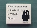 700 aniversario villa bilbao 2000 peseta - foto