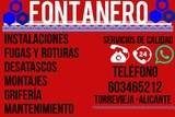 Fontanero-Plumber TORREVIEJA - foto