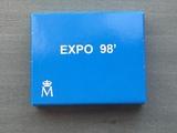 1000 pts plata expo 1998 lisboa - foto