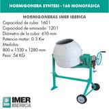 HORMIGONERA SYNTESI-160 MONOFÁSICA - foto