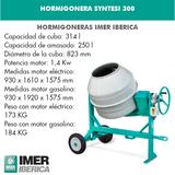 HORMIGONERA SYNTESI-300 MONOFÁSICA - foto
