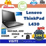 Lenovo Thinkpad L430 OFERTA - foto