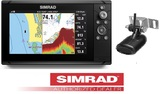 GPS PLOTTER SONDA SIMRAD CRUISE 7 C/TRAN - foto