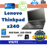 Lenovo Thinkpad Ultrabook x240 - foto