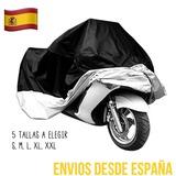FUNDA IMPERMEABLE MOTO VARIAS TALLAS - foto