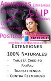 Extensiones pelo natural - foto
