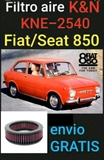 FILTRO K&N FIAT/SEAT 850 - foto