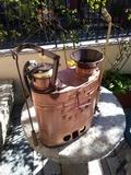 Maquina de sulfato de cobre con reloj - foto
