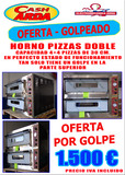 HORNO NUEVO DE PIZZAS CON GOLPE - foto