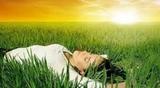 Terapia de relajacion y respiracion - foto