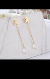 pendientes oso tous perla blanca nuevos - foto