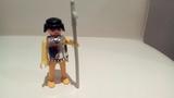 antiguo soldado medieval playmobil - foto