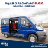 Alquiler de furgones furgonetas 9 plazas - foto