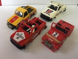 Lote carrocerias sts exin scalextric - foto
