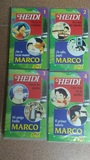 4 Películas VHS de Heidi y Marco - foto