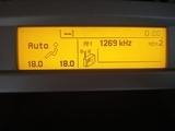 display multifunción Peugeot 407 - foto