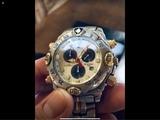 Reloj Lotus Chronograph oro y plata - foto