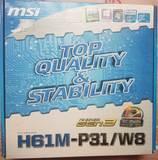 MSI 1155 -h61M - foto
