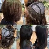 Pelucas y extensiones de  pelo  natural - foto