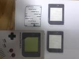 pantalla Cristal game boy clasica - foto