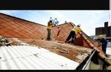 goteras. tejados cumbre - foto