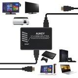 Aukey Distribuidor 1 a 4, compatible con - foto