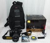 KIT NIKON D90 18-105 VR - foto