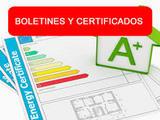 Boletines y certificados electricos - foto