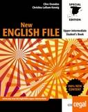 NEW ENGLISH FILE UPER-INTERMEDIATE STUDE - foto