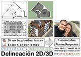 Delinear planos 2D y 3D - foto