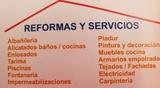 Reformas y servicios económicos - foto