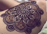 Tatuajes Henna natural y negra L calidad - foto