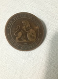 10 centimos de peseta 1870 - foto