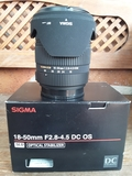 Sigma-Sony 18-50 f2,8-4,5 DC OS HSM - foto