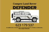 COMPRO LAND ROVER - foto