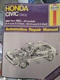 MANUAL HAYNES HONDA CIVIC 1980-1983 - foto