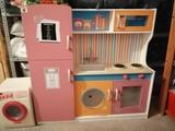 cocinita  de madera para niñ@s - foto