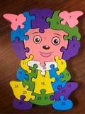 Puzzle de madera - foto