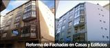 Reforma de fachadas en casas y edificios - foto