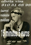 tarotistas y videntes 15 minutos 5 euros - foto