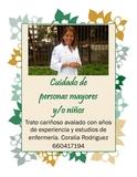 Enfermera para cuidados de mayores - foto