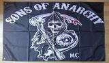 banderas hijos de la anarquia SOA - foto