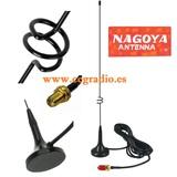 Nagoya UT-108UV Antena SMA Hembra Magnet - foto