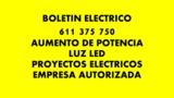 Electricista boletin - foto