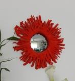 corales, espejos, resinas - foto