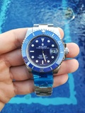 Rolex Submariner (Azul solo) - foto
