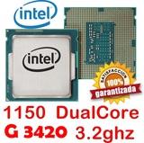 1150 INTEL DUALCORE G3240  A 3.2GHZ - foto