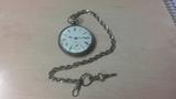 reloj bolsillo plata-rb34 - foto